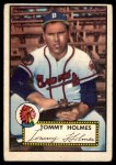 1952 Topps #289  Tommy Holmes  Front Thumbnail