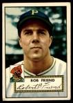 1952 Topps #233  Bob Friend  Front Thumbnail