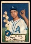 1952 Topps #31  Gus Zernial  Front Thumbnail