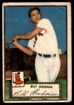 1952 Topps #23  Billy Goodman  Front Thumbnail