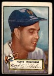 1952 Topps #392  Hoyt Wilhelm  Front Thumbnail