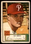 1952 Topps #44  Con Dempsey  Front Thumbnail