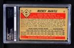 1953 Bowman #59  Mickey Mantle  Back Thumbnail