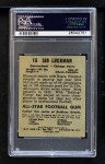1949 Leaf #15  Sid Luckman  Back Thumbnail