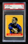 1949 Leaf #15  Sid Luckman  Front Thumbnail