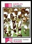 1973 Topps #479  Merlin Olsen  Front Thumbnail