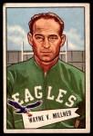 1952 Bowman Large #57  Wayne Millner  Front Thumbnail
