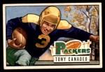 1951 Bowman #90  Tony Canadeo  Front Thumbnail
