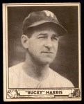1940 Play Ball #129  Bucky Harris  Front Thumbnail