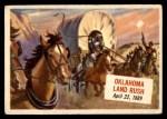 1954 Topps Scoop #38   Oklahoma Land Rush  Front Thumbnail
