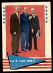 1961 Fleer #1   -  Frank Home Run Baker / Ty Cobb / Zach Wheat Checklist Front Thumbnail