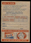 1958 Topps   Contest Card Back Thumbnail