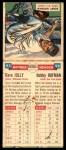 1955 Topps DoubleHeader #95 / 96 -  Dave Jolly / Bobby Hofman  Back Thumbnail