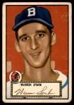 1952 Topps #33  Warren Spahn  Front Thumbnail