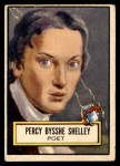 1952 Topps Look 'N See #114  Percy Shelley  Front Thumbnail
