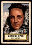 1952 Topps Look 'N See #50  Admiral Byrd  Front Thumbnail