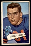 1952 Bowman Small #19  George Connor  Front Thumbnail
