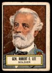 1952 Topps Look 'N See #34  Robert E Lee  Front Thumbnail