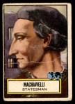 1952 Topps Look 'N See #106  Machiavelli  Front Thumbnail