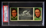 1912 T202 Hassan   -  Frank Chance / Joe Tinker Evers Makes Safe Slide  Front Thumbnail
