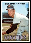 1967 Topps #273  Dick Lines  Front Thumbnail