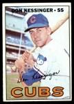 1967 Topps #419  Don Kessinger  Front Thumbnail