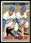 1967 Topps #186   -  Ed Kranepool / Ron Swoboda Mets Maulers Front Thumbnail