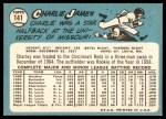 1965 Topps #141  Charlie James  Back Thumbnail