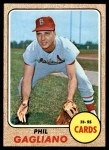 1968 Topps #479  Phil Gagliano  Front Thumbnail