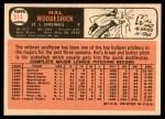 1966 Topps #514  Hal Woodeshick  Back Thumbnail