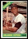 1966 Topps #132  Orlando Cepeda  Front Thumbnail