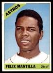 1966 Topps #557  Felix Mantilla  Front Thumbnail