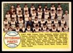 1958 Topps #341   Pirates Team Checklist Front Thumbnail