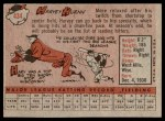 1958 Topps #434  Harvey Kuenn  Back Thumbnail