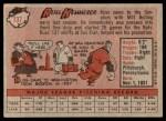 1958 Topps #137  Russ Kemmerer  Back Thumbnail