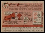 1958 Topps #262  Johnny Groth  Back Thumbnail