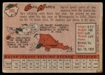 1958 Topps #309  Gail Harris  Back Thumbnail