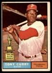 1961 Topps #262  Tony Curry  Front Thumbnail