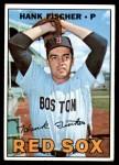 1967 Topps #342  Hank Fischer  Front Thumbnail