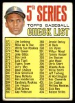 1967 Topps #361   -  Roberto Clemente Checklist 5 Front Thumbnail