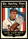 1959 Topps #128  Bob Hartman  Front Thumbnail