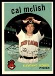 1959 Topps #445  Cal McLish  Front Thumbnail