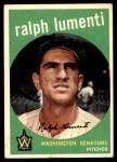 1959 Topps #316 OPT Ralph Lumenti  Front Thumbnail