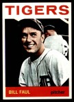 1964 Topps #236  Bill Faul  Front Thumbnail