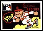 1971 Fleer World Series #44   1946 Cardinals / Red Sox  (Enos Slaughter) -   Front Thumbnail