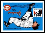 1971 Fleer World Series #59   1961 Yankees / Reds  (Whitey Ford) -   Front Thumbnail