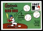 1971 Fleer World Series #65   1967 Cardinals / Red Sox  -    Front Thumbnail