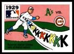 1971 Fleer World Series #27   1929 A's / Cubs -   Front Thumbnail