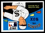 1971 Fleer World Series #15   1917 White Sox / Giants  (Red Faber) -   Front Thumbnail