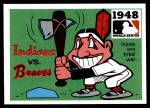 1971 Fleer World Series #46   1948 Indians / Braves -   Front Thumbnail